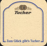 Beer coaster tucher-brau-5-zadek