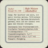 Beer coaster tucher-brau-50-zadek-small