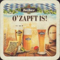 Beer coaster tucher-brau-58-small