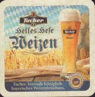 Beer coaster tucher-brau-58-zadek-small