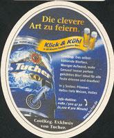 Beer coaster tucher-brau-6-zadek