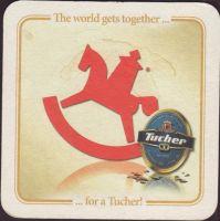 Beer coaster tucher-brau-61-zadek-small