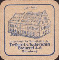 Beer coaster tucher-brau-66-zadek-small