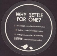 Beer coaster two-birds-1-zadek-small