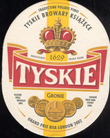 Beer coaster tyskie-12