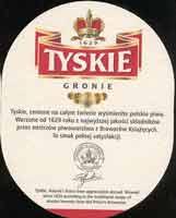 Beer coaster tyskie-15-zadek