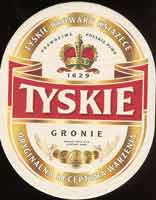 Beer coaster tyskie-15