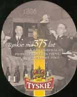 Beer coaster tyskie-17-zadek