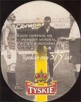 Beer coaster tyskie-31-zadek