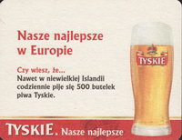 Beer coaster tyskie-40