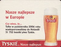 Beer coaster tyskie-41