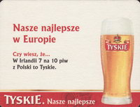 Beer coaster tyskie-43