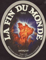 Beer coaster unibroue-14-small