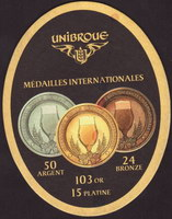 Beer coaster unibroue-17-small