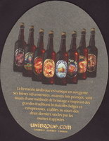 Beer coaster unibroue-17-zadek-small