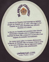 Beer coaster unibroue-18-zadek-small