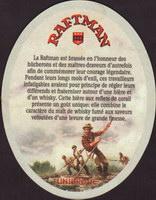 Beer coaster unibroue-21-zadek