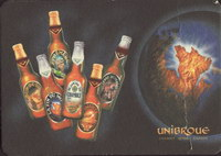 Beer coaster unibroue-7-zadek-small