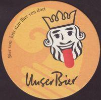 Pivní tácek unser-bier-1-zadek-small
