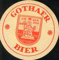 Pivní tácek veb-brauerei-gotha-1