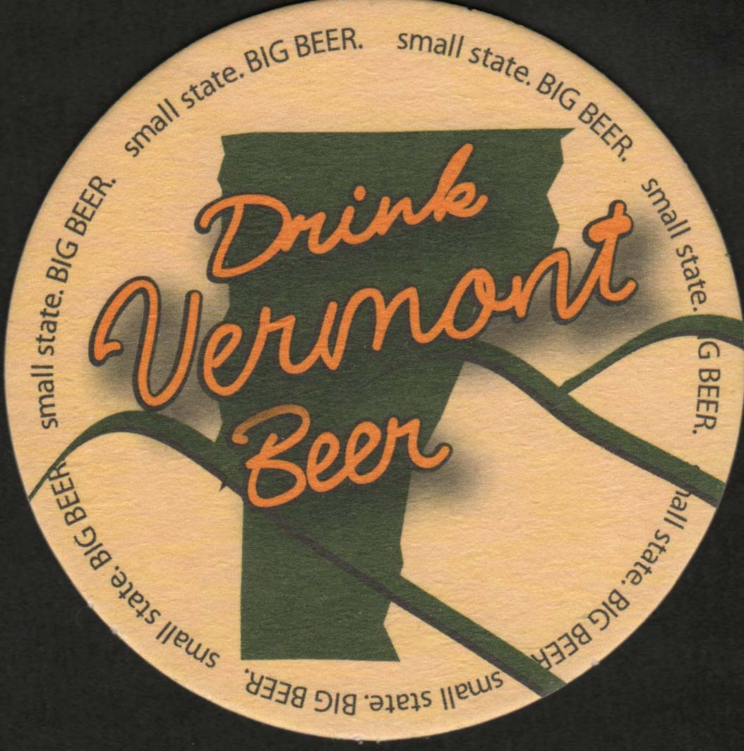 Beer coaster - Coaster number 1-1 | Brewery Vermont Brewers