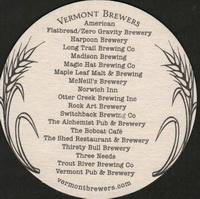 Beer coaster vermont-brewers-association-2-zadek-small