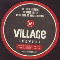 Pivní tácek village-1