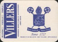 Beer coaster villers-1