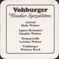 Pivní tácek vohburger-weissbier-2-zadek-small