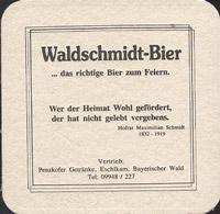 Pivní tácek waldschmidt-1-zadek