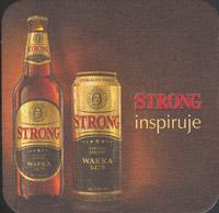 Beer coaster warka-14-zadek