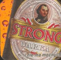 Beer coaster warka-2-zadek