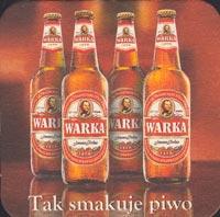 Beer coaster warka-5-zadek
