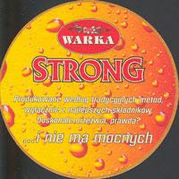Beer coaster warka-7-zadek