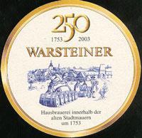 Pivní tácek warsteiner-14-zadek