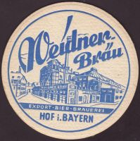 Beer coaster weidner-2-small
