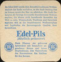 Pivní tácek weihenstephan-5-zadek