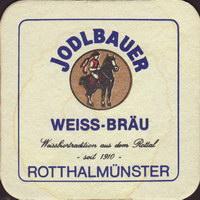 Beer coaster weissbrau-jodlbauer-2-small