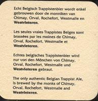 Beer coaster westbleteren-1-zadek