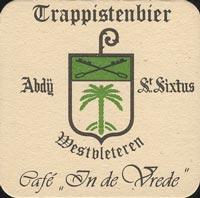 Pivní tácek westbleteren-1