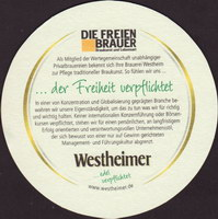 Pivní tácek westheimer-11-zadek-small