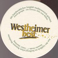 Pivní tácek westheimer-7-zadek