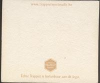 Beer coaster westmalle-1-zadek