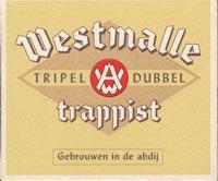 Beer coaster westmalle-1
