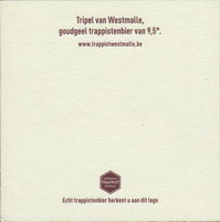 Beer coaster westmalle-16-zadek-small