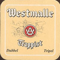 Beer coaster westmalle-2