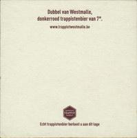 Beer coaster westmalle-20-zadek-small