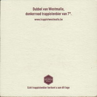 Beer coaster westmalle-23-zadek-small