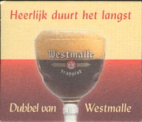 Beer coaster westmalle-3