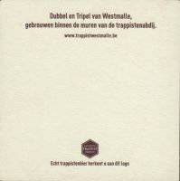 Beer coaster westmalle-30-zadek-small